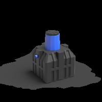 Септик-накопитель ТЕРМИТ-1,2 / МУЛЬТСТОК-1,2 м3